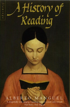 Cover of Manguel, A History of Reading